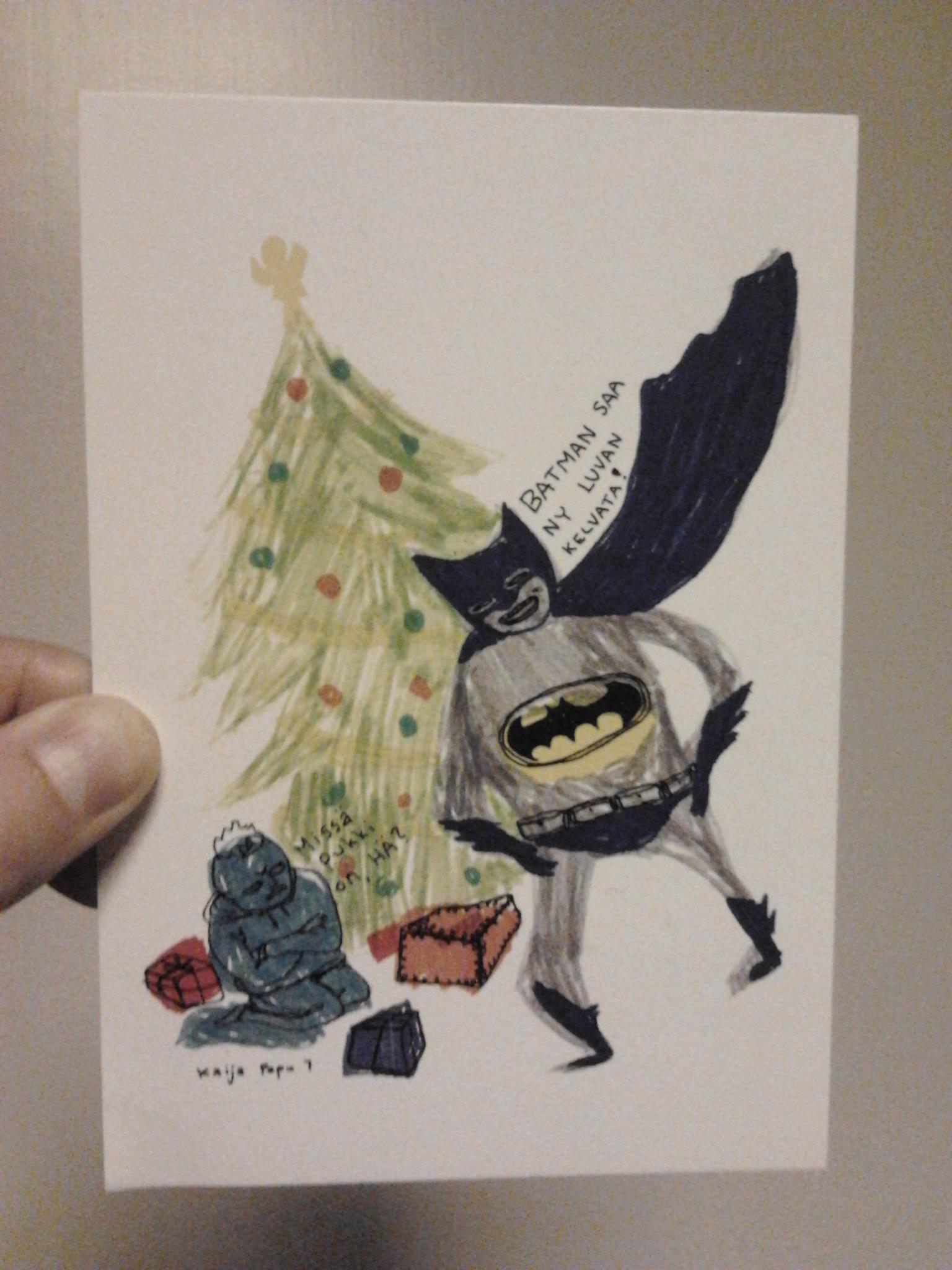 kaijapapu-joulukortti